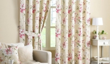 Aurora,  Rose  (Curtains)